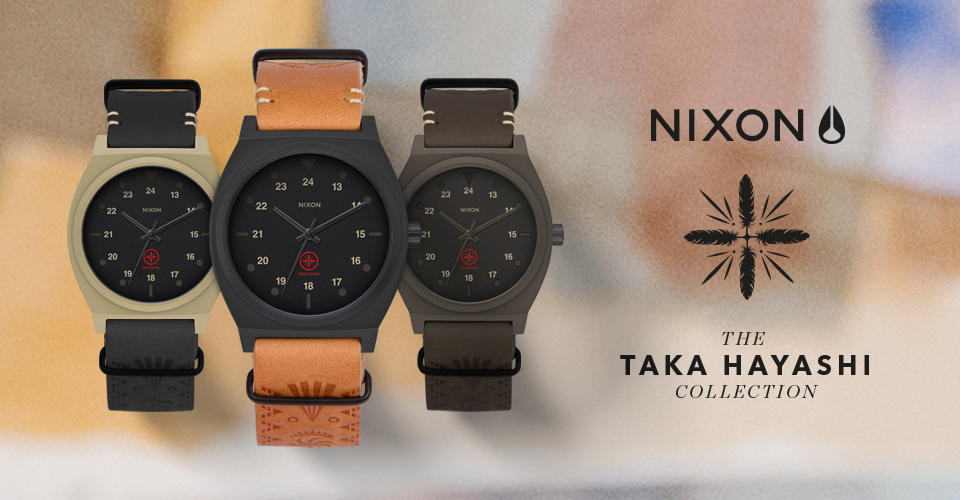 NIXON x The TAKA HAYASHI Collection