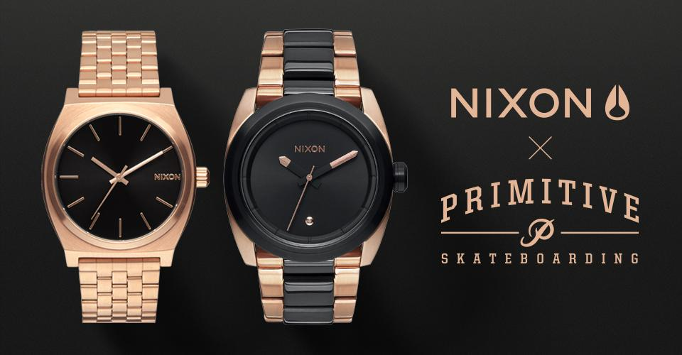 Nixon x Primitive Collab